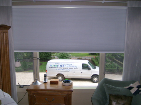 Custom Motorized Blinds by Beach Glass Designs
